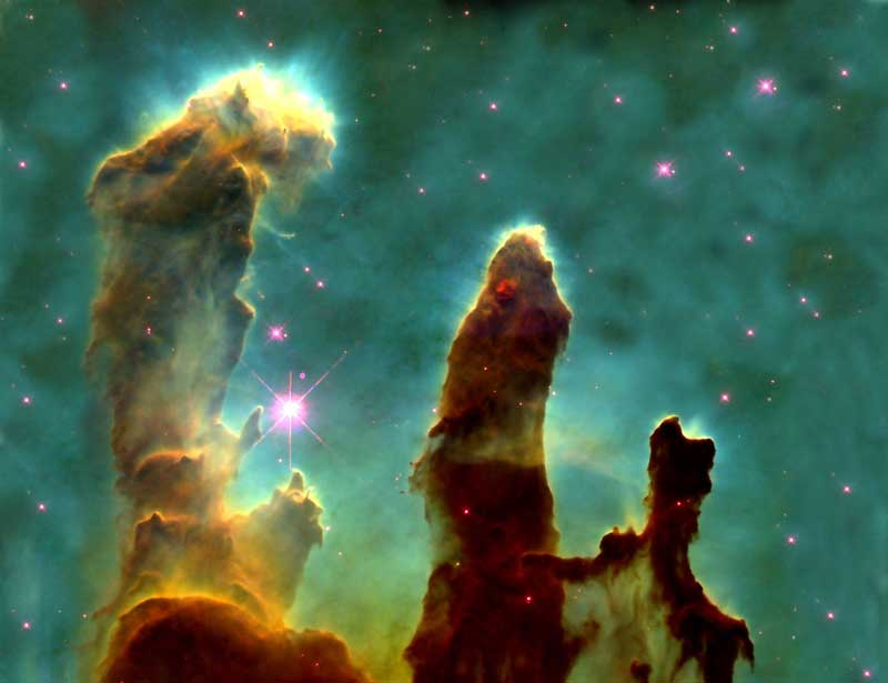 Eagle Nebula or Pillars of Creation