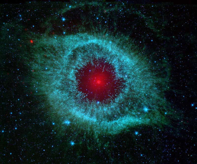 Helix Nebula or Eye of God (NGC 7293)