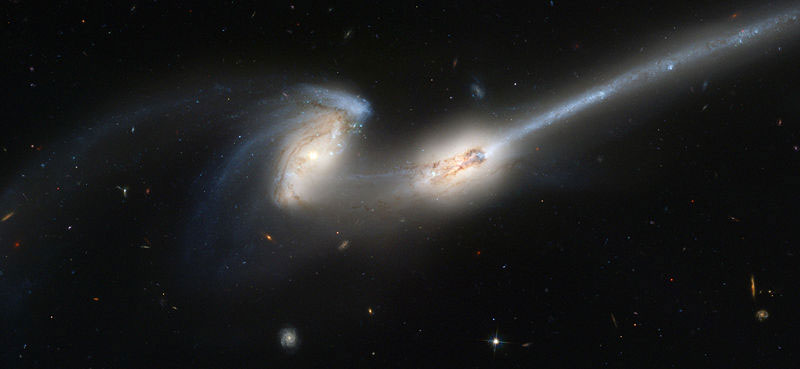 Mice Galaxies