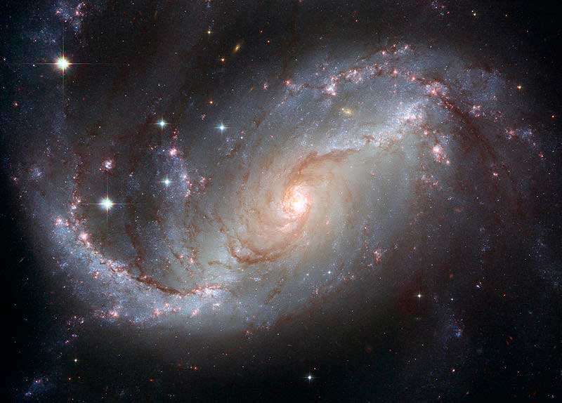 Barred Spiral Galaxy (NGC 1672)