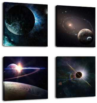Astronomy Paintings Canvas Prints