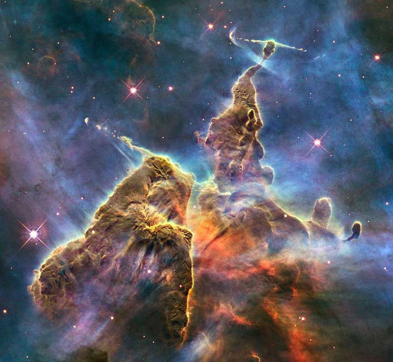 Carina Nebula (HH 901 and HH 902)
