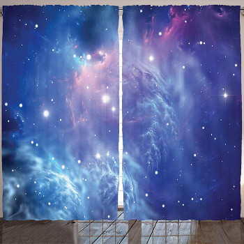 Mysterious Space Curtains