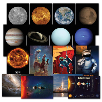 Set of 16 Space Posters