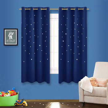 Starry Draperies for Kids