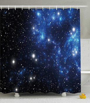 Stars Nebula Shower Curtain