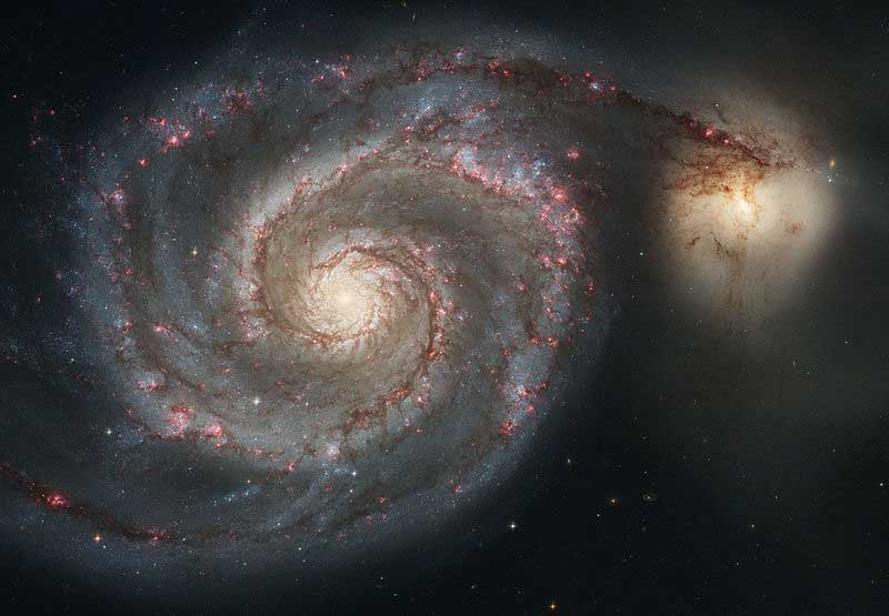 Whirlpool Galaxy (Messier 51, NGC 5194)